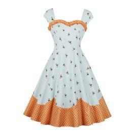 90412b2265b plus size tube tops dresses Promo Codes - Women Sleeveless strap vintage A- line dress