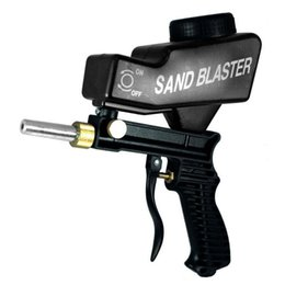 máquina de ahorro Rebajas Pistola de pulverización ligera Protección contra la oxidación Máquina de chorro de arena Ahorre material de superficie innecesario Ajuste los flujos de chorro de arena
