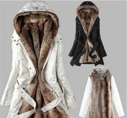 2020 искусственные меховые подкладки длинные пальто Горячее надувательство! Faux меховой подкладки женщины меховых пальто зимой теплая длинное пальто куртка пальто Женщина с Верхней одеждой дешево искусственные меховые подкладки длинные пальто