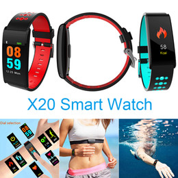 Teamyo X20 Smart Watches Orologio da polso per la misurazione della frequenza cardiaca dell'ossigeno della pressione arteriosa Orologio da polso sportivo sportivo Bluetooth da yongnuo iii fornitori