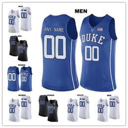 f9ebf278e 2019 jerseys de baloncesto 4xl Custom Duke Blue Devils 1 Trevon Duval 3  Grayson Allen cualquier