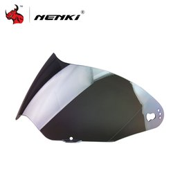 Замена линз очков онлайн-Защитные очки Шестерни NENKI для 310 мотоциклов Шлем Visor Lens Мото анфас шлем Модульные сменные козырьков Sun Shields объектива