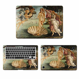 Copertura del corpo del computer portatile online-The Birth Of Venus Cover Full Body per MacBook Sticker Pro Air Retina 11 12 13 15 pollici Mac Hp Mi Surface Book Laptop Decal T6190615
