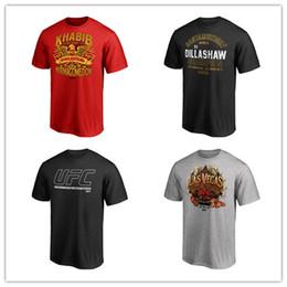 2019 UFC Gorilla The Bear Artist Series Conor McGregor UFC combat série shirt chemises courtes impression 3D logos de marque chemises pour hommes manches courtes ? partir de fabricateur