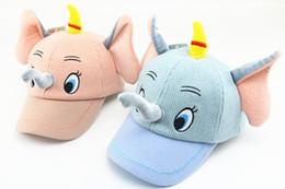 nuove berretti animali carini Sconti Berretto hip-hop cappello berretto hip-hop cappello da baseball elefante animale cartone animato di inverno super nuovo modo all'ingrosso carino moda bambino cappello