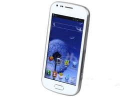 Telefono 3G WCDMA 4G Camera 5MP sbloccato fotocamera Android da 4 pollici S7562 telefono cellulare smart phone con WIFI GPS Bluetooth da