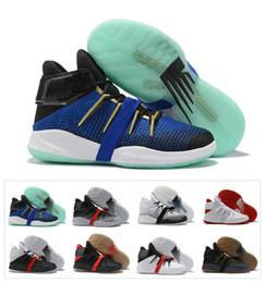 K2 online-2019 Nuevo Llega Kawhi Leonard OMN1S KL 1 1S Yo firma KL2 K2 Zapatillas de baloncesto Negro Blanco Hombres Zapatillas de baloncesto Zapatillas de deporte Tamaño 40-46
