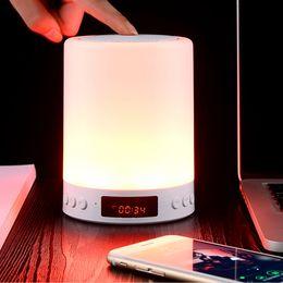 musik engel sprecher Rabatt Neuheiten TWS Lampe Bluetooth tragbarer Lautsprecher Smart Led Licht Wireless Outdoor-Lautsprecher Unterstützung TF-Karte Super Bass Wireless-Lautsprecher