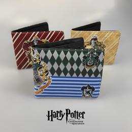 magische brieftaschen für männer Rabatt Neue Hochwertige Harry Potter Damen Brieftaschen Und Geldbörsen Kurze Leder Männer Anime Magie Brieftaschen Karten Reißverschluss Münzen bolsas feminina 12 styles