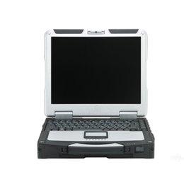 hardbook portátil Rebajas Venta caliente portátil Toughbook CF31 de alta calidad con I5 Win7 Enlgish CF 31 CF-31 para MB Star C4 / C5 Icom A2 / Siguiente diagnósticoDHL envío