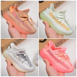 Adidas Yeezy 350 V2 Barato Bebé Niños Kanye West Niños Calzado Deportivo Niños Zapatos Corrientes Niñas Zapatos Casuales Zapatillas de Entrenamiento de Bebé Tamaño 28-35 desde fabricantes
