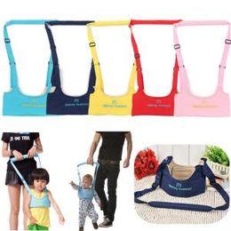 imbracatura delle ali Sconti Baby Walking Safety Carry Harnesses Guinzagli Passeggini Camminare Ala Cintura Walk Assistant Walker Sicurezza Tracolla regolabile LJJT214