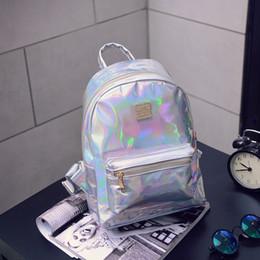 2019 beliebte koreanische brieftaschen New 2019 Designer Rucksack Handtaschen Laser Luxus Rucksack koreanische Art und Weise Damen Rucksack Art und Weise populäre Notebook-Tasche Designer-Portemonnaie günstig beliebte koreanische brieftaschen