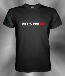 Loghi del motore online-Nismo Nissan Motor Logo T Shirt Taglia S M L XL 2XL 3XL Magliette all'ingrosso Maglietta personalizzata Maglietta con stampa ambientale all'ingrosso a buon mercato