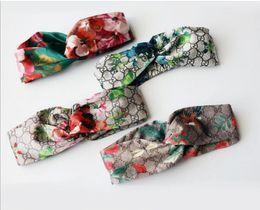 Горячие продажи роскошный дизайнер 100% Шелковый крест оголовье женщины девушка эластичные ленты для волос ретро тюрбан головные уборы подарки цветы Колибри орхидеи от