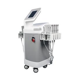 Липо-лазерные диоды онлайн-2019 горячих 528 диодов липо-лазер, умный 4D липолазер / липо-лазер для похудения машина Вибрирующие колодки для похудения Lipo Laser