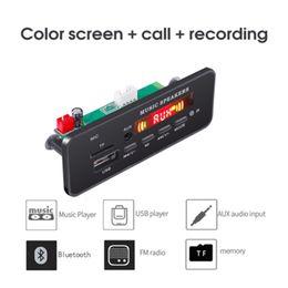 KEBIDU DC 12V Bluetooth MP3 WMA Décodeur Conseil Module Audio USB TF Radio FM AUX 5V Lecteur MP3 Mains Libres Pour Voiture Support Enregistrement ? partir de fabricateur