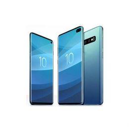 "teléfonos celulares de tv al por mayor Rebajas GooPhone S10 + Clon 6.4"" 19: 9 Punch-agujero de pantalla completa curvo 2.5D de cristal 4G LTE Octa Core 16.0MP auriculares de teléfonos inteligentes HD +"
