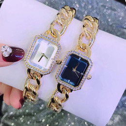 new fashion girls gold bracelet Coupons - 2019 Bracelet Women Watch Luxury Watches Quartz Sqaure Dial face rose gold silver gold Dress Watch Relojes De Marca Mujer Gift for girls
