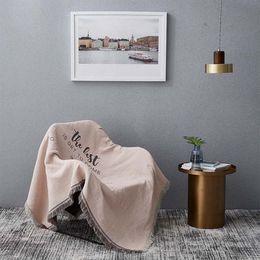 cadeiras de rosto Desconto Malha cadeira reclinável Tampa Blanket Sofá da manta Mulheres Escritório Manta Tippet dupla face Tapestry