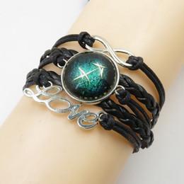 2019 bracelete sagittarius Moda amor sagittarius pulseira artesanal amor sagittarius pulseiras pulseira zodíaco cores personalizadas bracelete sagittarius barato