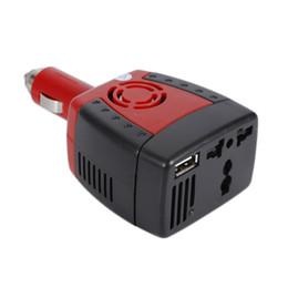 carregador de carro usb laptop Desconto Novo 150 W Car Power Inverter 12 V DC para 220 V AC Conversor Adaptador com Isqueiro e USB 5 V Carregador Para Laptop Smartphone