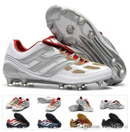 5bc32b91e Classics Predator Precision Accelerator Electricity FG DB AG V 5 Beckham  Becomes 1998 98 Men Soccer Shoes Cleats Football Boots Size 39-45