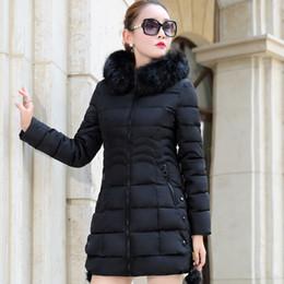 chaquetas de algodón para mujer Rebajas Chaqueta más el tamaño de la piel de imitación Parkas Mujeres Abajo XXXL para mujer Parkas espesa la prendas de vestir exteriores de la capa encapuchada de invierno de mujeres chaqueta de algodón acolchado