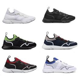 2019 boîte de néo Designer Chaussures B21 NEO Sneaker Technique Tricot Confortable Hommes Running Trainers Baskets Semelle Blanche En Plein Air Chaussures Décontractées avec BOX boîte de néo pas cher