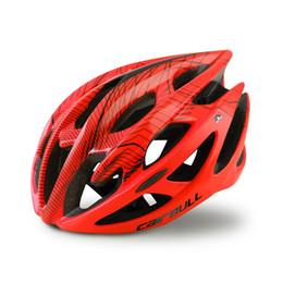Capacetes de bicicleta de estrada super leve on-line-Venda quente Capacete de Ciclismo Super leve Adulto Estrada de Bicicleta Capacete de Bicicleta de Segurança Respirável MTB Mountain Cascos Ciclismo Capacete M L Tamanho