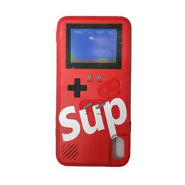 2019 casos sumsung s6 Silicagel TPU phone case capa SUP Consoles de jogos portáteis 36 Game player clássico Para iphone678 plus X XR XS Max com caixa de Varejo
