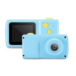 Cámara de fotos de juguete educativo para niños Mini cámara de juguete digital compatible con tarjeta TF Juego de juegos Pantalla colorida de 2 pulgadas con caja al por menor desde fabricantes