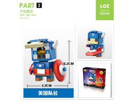 2019 blocos de construção do castelo de brinquedo de plástico LOZ DIAMOND BLOCKS Brinquedo Super Heroes Pikachu Em 7.5 CM Caixa de Jogos de Parent-criança Educacional DIY Assemblage Bricks Brinquedos 3D Puzzle crianças brinquedos