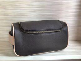 bolsas de cosméticos simples atacado atacado Desconto mulheres designer sacos cosméticos duplo zíper luxo viajando vaso sanitário saco de moda famoso saco de lavagem marca de maquiagem higiene bolsa bolsa de viagem
