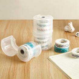 Kawaii Simpatico nastro adesivo per mascheratura Washi Dispenser per nastro Organizzatore per taglierini per ufficio scolastico Forniture per ufficio FAI DA TE sl1830 da nastro adesivo a caldo fornitori