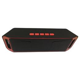 Canada SC208 haut-parleurs sans fil Bluetooth mini haut-parleur portable musique Bass haut-parleurs sonores Subwoofer pour téléphone intelligent et Tablet PC Ventes chaudes Offre