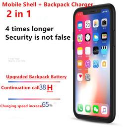 Корпус мобильного телефона Внешний аккумуляторный блок Зарядное устройство Защитная крышка зарядного устройства Аудио для iPhone X XS 5000 мАч Рюкзак портативный источник от Поставщики портативное беспроводное зарядное устройство для мобильных телефонов