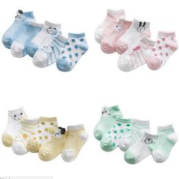 bote gato bebé Rebajas Calcetines infantiles Algodón Cálido Invierno Bebé Calcetín Recién nacido antideslizante Calcetines para niños y niñas
