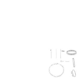 2019 100% 925 Sterling Silver Multi-urso Em Linha Reta Vara de Moda Pingente Clipe de Orelha Pulseira Earmuffs Brincos Anel Frete Grátis de