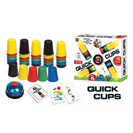 Argentina Juego competitivo de tazas plegables taza plegable volando taza plegable competencia de juguetes interactivos entre padres e hijos para los juegos de escritorio de rompecabezas para niños Suministro