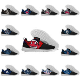Scarpe indiane donne online-Mens designer delle donne Lundon Olympic Mesh leggero Trainer White Sox Indiani Tigers Royals Sport Running Shoes Outdoor Sneakers 36-45