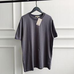 cinzento t camisas Desconto Camisa Kanye T Sólida Mens T-shirt de Verão Temporada 5 Kanye West Algodão Cinza Tshirt Temporada 5 de Alta Qualidade
