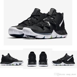 76c069b590b 2019 Kyrie 5 Black Magic Basketball Shoes Halloween Confetti Triple Black  Power is Female Green Lucky Charms Pack Sport Sneakers With Box