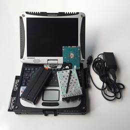 2019 ford carro usado Melhor qualidade VCM2 ferramenta de Diagnóstico Do Carro Para Ford VCM IDS ii ferramenta obd2 vcm 2 para mazda com cf-19 laptop pronto uso