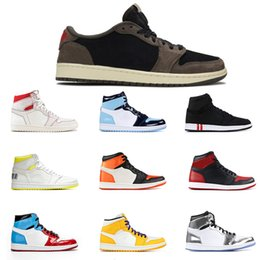 Wholesale Fashion Hot Sale men basketball shoes s UNC PINE GREEN Satin Black Toe Fearless mens trainer athletic sports sneakers