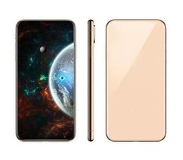 h sim móvil Rebajas Mejor reconocimiento de la piedra de afilar Versión X Max cara de carga inalámbrica 4G LTE teléfono inteligente real 2G RAM 16G Rom Mostrar 32Gb Octa Core GooPhone Teléfono