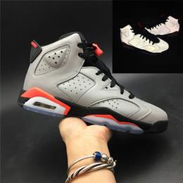 6 s basketbol ayakkabıları 2019 3 M statik erkekler kadınlar retro marka sneakers kızılötesi tinker gatorade aleali 6 size36-47 olabilir nereden
