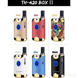 cartouches de kit de démarrage Promotion 100% d'origine Kangvape TH-420 II Starter Kit 650mAh VV TH420 2 Batterie Boîte Mod 0.5ml 92a3 Épaisse Réservoir De Cartouche D'huile Authentique