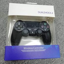2019 mini gamepad bluetooth para android New Hot controlador sem fio Bluetooth para PS4 Vibration Joystick Gamepad Game Controller para Sony Play Station com caixa de varejo