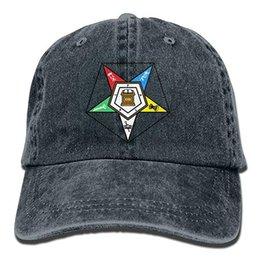Canada 2019 nouveau casquettes de baseball en gros imprimer chapeau haut coton mens lavé casquette de baseball en sergé, chapeau oriental star Offre